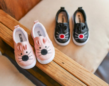 kids shoes 2017 black school shoes for children fashion children boys shoes cat