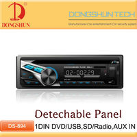 New hot 1 din car vehicle Dash DVD player