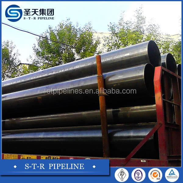 High quality Fast delivery API5L PSL1X42 X46 X52 X70 ERW LSAW carbon steel pipe for construction