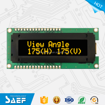 "cheap 2.26"" 16X2 dot display OLED lcd panel"