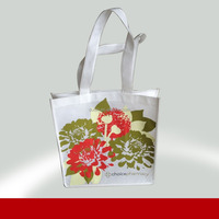 Low price factory making custom reusable shopping bag pouch 100% manufacturer