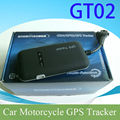 Real-time Global Tracking Vehicle GPS Tracker GT02 with Forever Free Online Tracking Platform