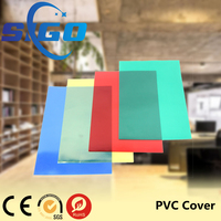 SIGO pvc sheets plastic book covers