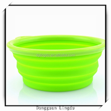 Fashion color dog water bowl rubber ring