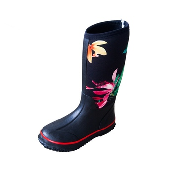 Women's Beautiful Wellington Neoprene Hunting Rubber Rain Boots