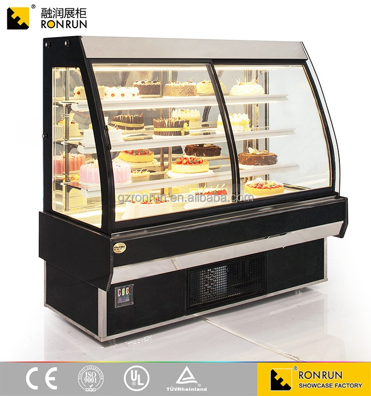 Exquisite Hot Sale Glass Display Showcase and Bakery Display Cabinet