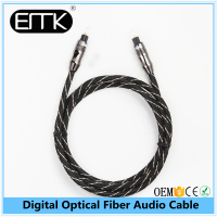 EMK 1m/3ft OD 6.0 mm Audio Optical Fiber Digital Cable For Speaker For Car Aux