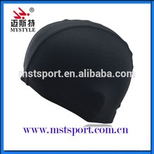 wholesale cheap polyester swim caps
