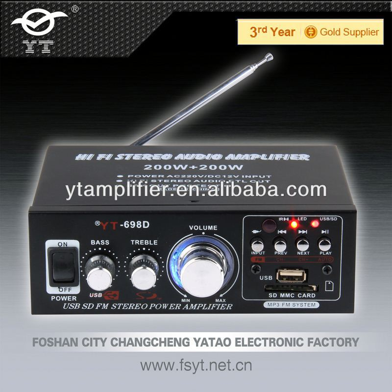 Hot sales amplifier YT-698D pyle made in china