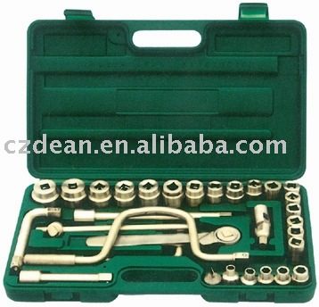 "non sparking 3/4"" socket set 32 pcs"