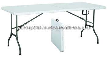 Plastic folding table buy plastic dining table folding - Plastic folding dining table ...