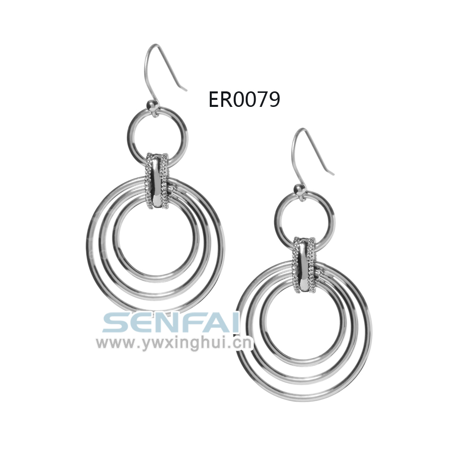 unique circle earring material for earring making