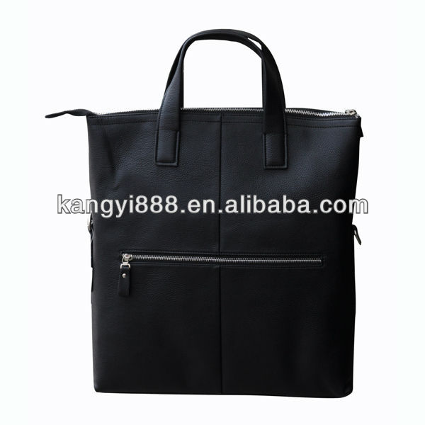 2013 Hot Sale Genuine Leather Men Business Style Briefcase Leather