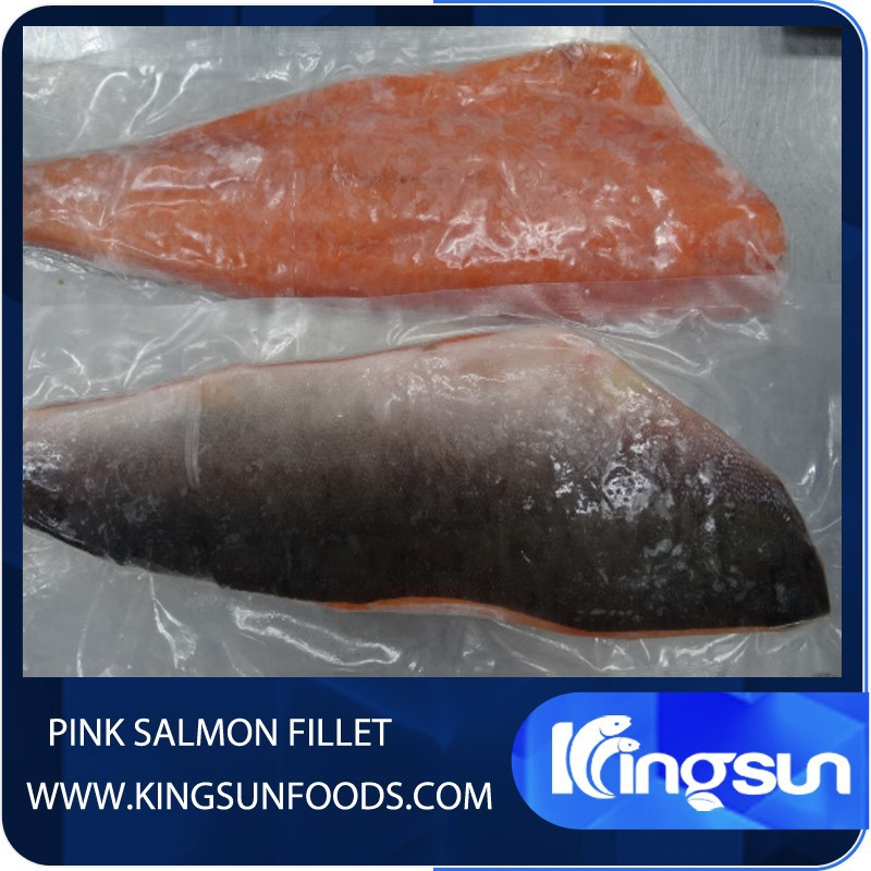 High Quality Wild Frozen Pink Salmon Fish Fillet