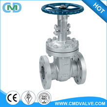 API 6D WCB 4 inch 6 inch Class 300 Flat Flange Ends Hot Oil Gate Valve