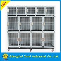 CE certified strong stainless steel dog kennel cage