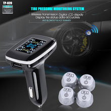 Universal High Quality Auto Wireless 12V TPMS External Tire Pressure Sensor Smart Digital Monitoring System