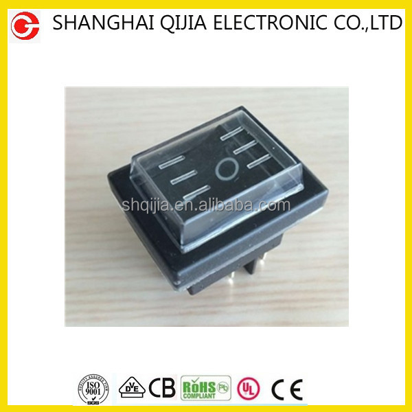 Qijia switch,4p 6p on off on rocker switch