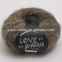 Acrylic Polyester Hand Knitting Fancy Spray Yarn