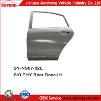 Car Body Parts Back Door For Nissan Sylphy