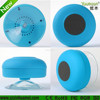 Original design suction cup bluetooth speaker
