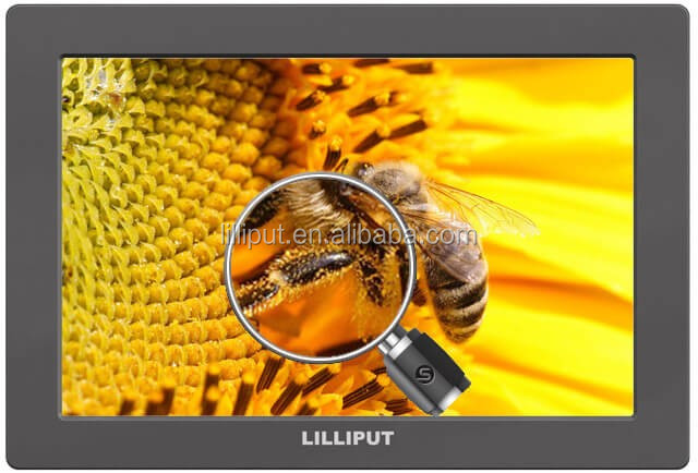 Lilliput SDI YPbPr, HDMI,AV 7 inch monitor HD-SDI camera