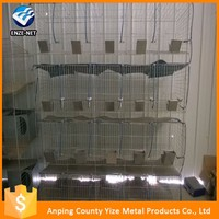 Welded automatic rabbit cage wire mesh manufacture