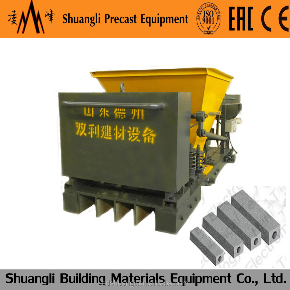 South africa latest technology in precast concrete products/fence post making machine