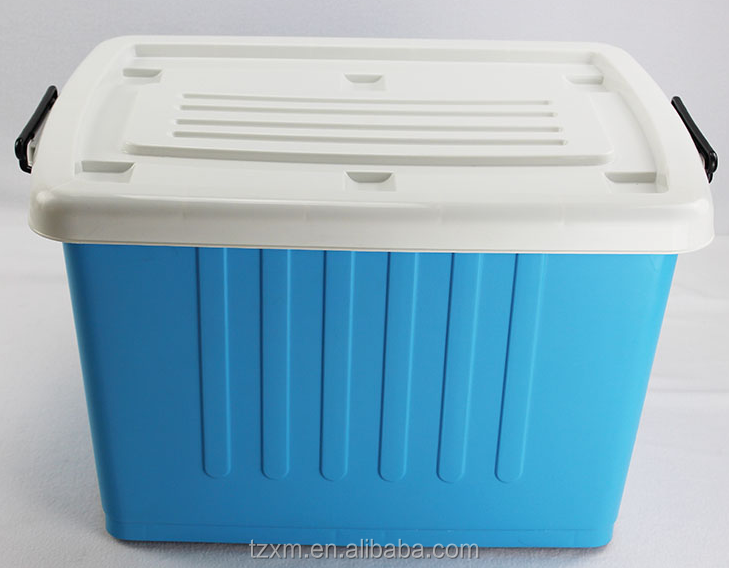 plastic kitchen fruit and vegetable storage box with lock lid
