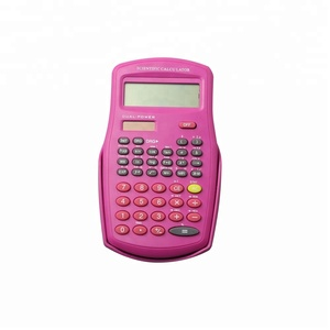 Solar Power 10 Digits Small Scientific Calculator for School