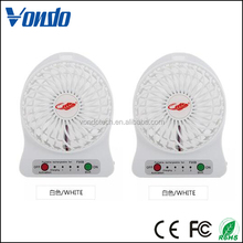 Summer Necessities Desktop Electric Portable USB Fan Mini Rechargeable Fan