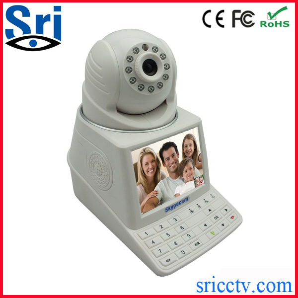 Sricam SP004 H.264 Dome Pan Tilt Wifi IP Camera With Monitor Wireless Allintitle Network Camera Networkcamera