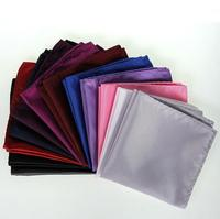 Simple twill fabric Polyester handkerchief,business popular handkerchief for men