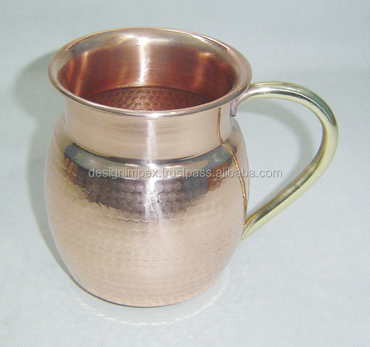 custom engraved logo copper mule mug,Russian Standard Moscow Mule Mugs, thermal vodka copper mug