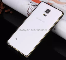 Ultra Thin Bumper metal Gold-Edge Aluminum Cover Frame For Samsung Galaxy S5 S6 S4 Note 2 3 4 Aluminum Bumper Case