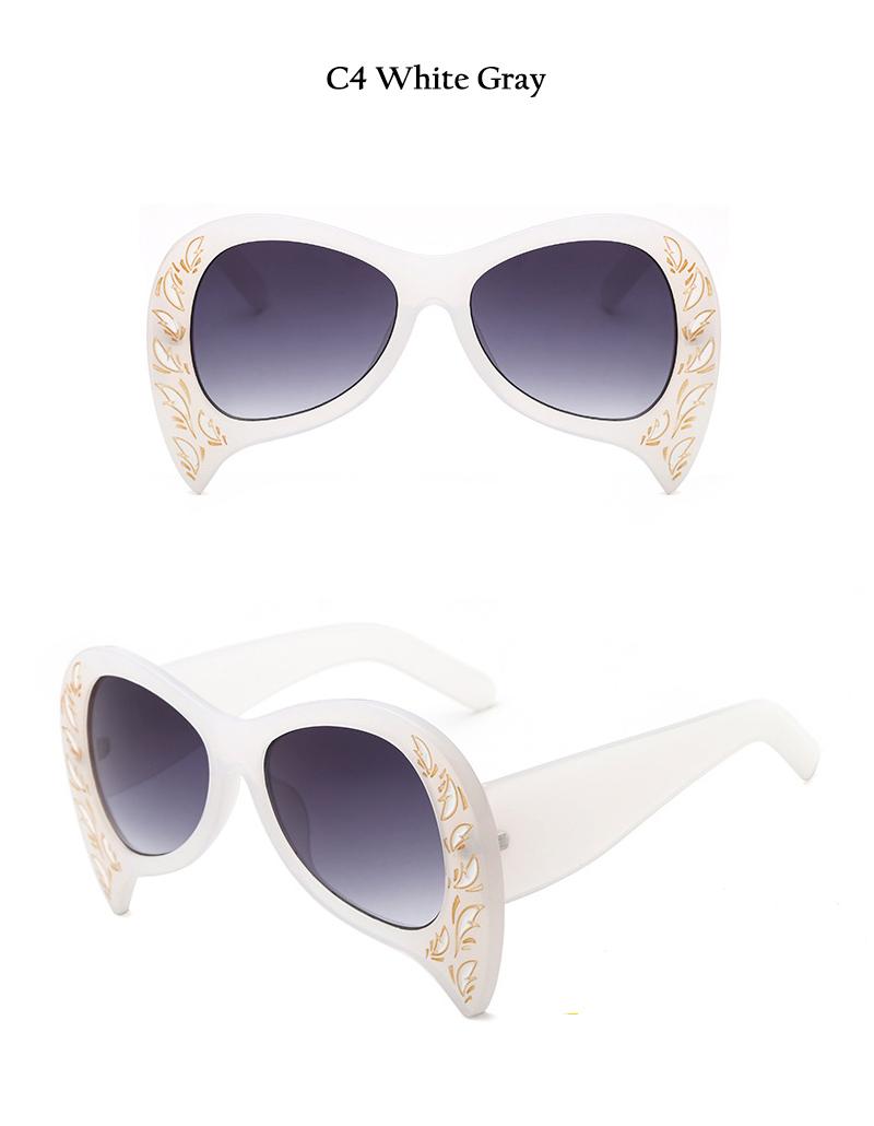 Rimless Cat Eye Sunglasses (14)