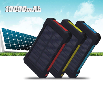2018 solar mobile charger power bank High capacity