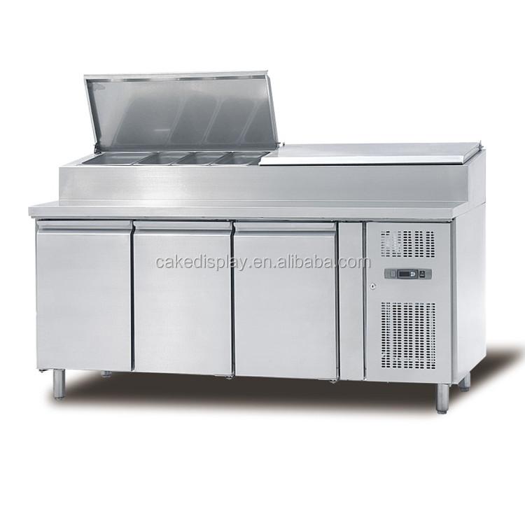 Commercial Salad Topping Bar Refrigerator/salad Bar Counter   Buy  Commercial Refrigerator,Salad Bar Counter,Topping Bar Refrigerator Product  On Alibaba.com