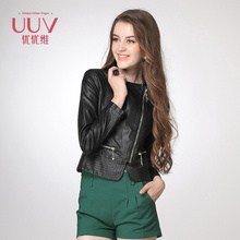 Hot Sale Attractive Comfortable woman pu leather jacket