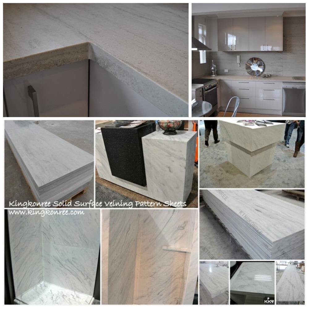 Corian Manufacturing Process: Artificial Marble Color Building Material, Interior Decor