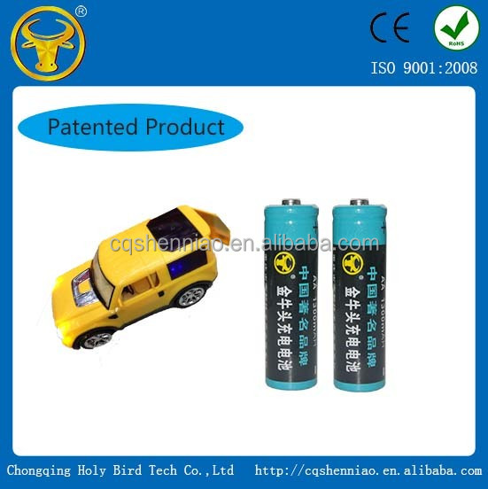 High Capacity AA Electrical Toys Battery