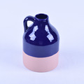Blue and pink personalized ceramic vase wholesale