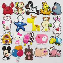 2014 hot sale cheap lovely pvc refrigerator magnet for kids custom fridge magnets