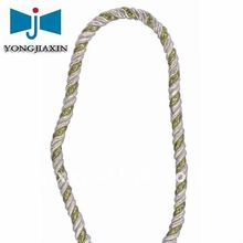 rayon+metallic twist rope use for packing,decorative