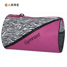women cylinder shape sports bag gym bag duffel bag