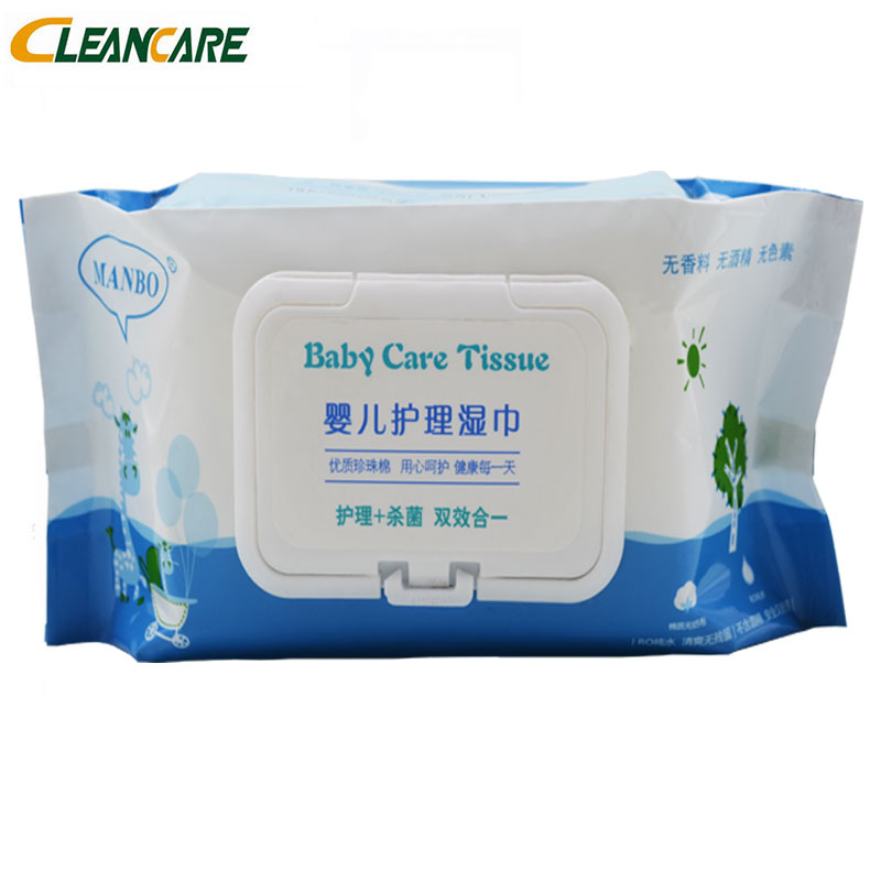 Skin Care Antibacterial Antiseptic Small Single Pack Japanese Baby Wet Tissue Cloth Brand Covers