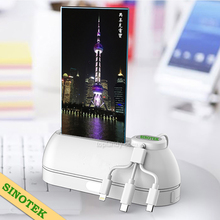 SINOTEK innovative private design 10000mAh 12000mAh 15000mAh cafe menu restaurant power bank