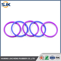 Standard Colorful Silicone rubber O Ring