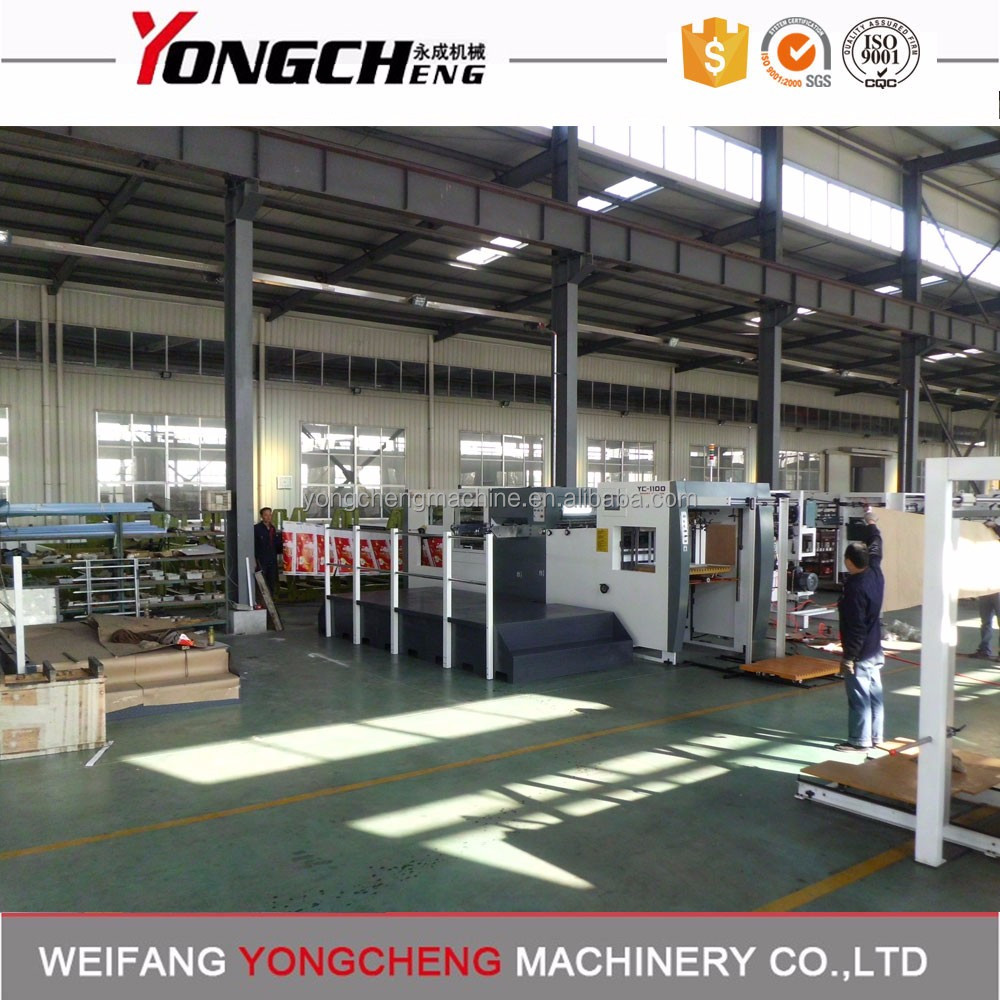 Chinese automatic die-cutting & hot foil stamping machine price