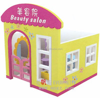 Girls Wooden Doll House, Role Play House, Play and Display Furniture